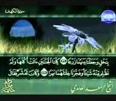 Venerdì: Surat al Kahf con Saad Al Ghamdi